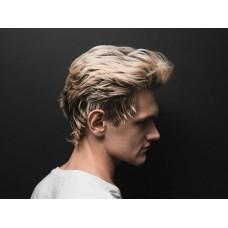 Стильная мужская стрижка на волнистые и кудрявые волосы