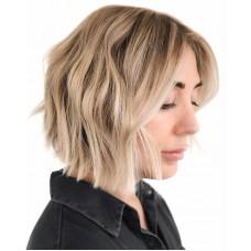 Сложное окрашивание на короткие волосы
