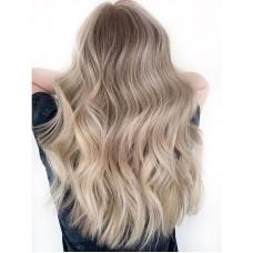Сложное окрашивание на длинные волосы