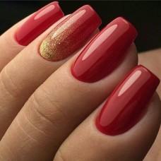 Коррекция гелевых ногтей и маникюр