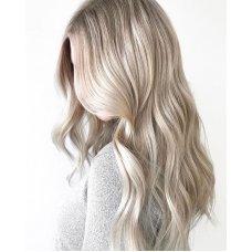 Cложное окрашивание блондинок